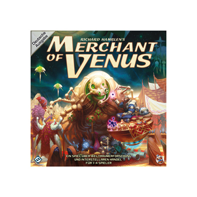 Merchant of Venus Brettspiel DEUTSCH