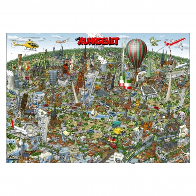 Ruhr District - Ruhrgebiet - jigsaw puzzle - box