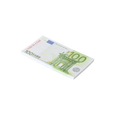 Notizblock 100€-Note