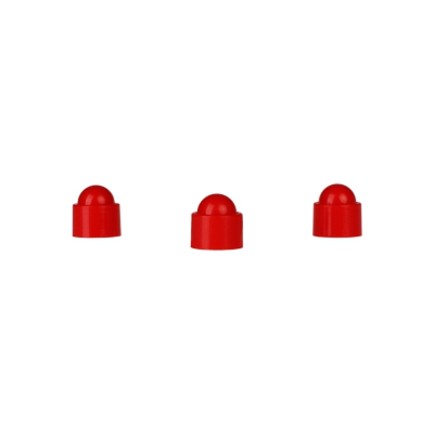 Playing piece Tower - stackable movers - red - plastic - 12 x 13 mm