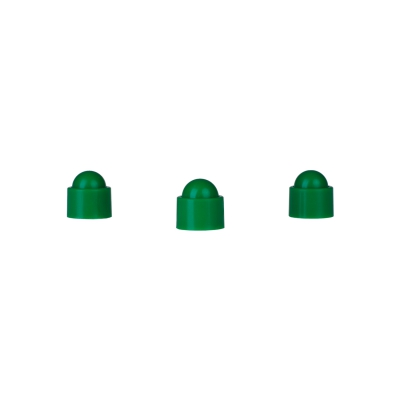Playing piece Tower - stackable movers - green - plastic - 12 x 13 mm