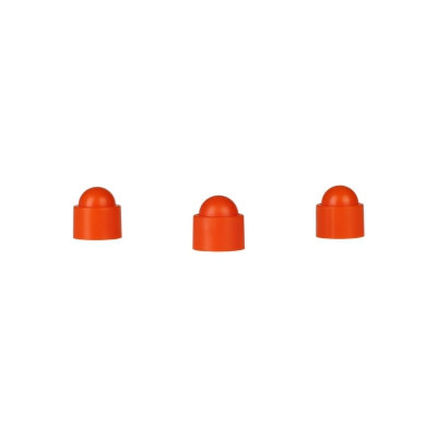 Playing piece Tower - stackable movers - orange - plastic - 12 x 13 mm