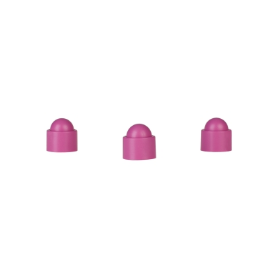 Playing piece Tower - stackable movers - pink - plastic - 12 x 13 mm