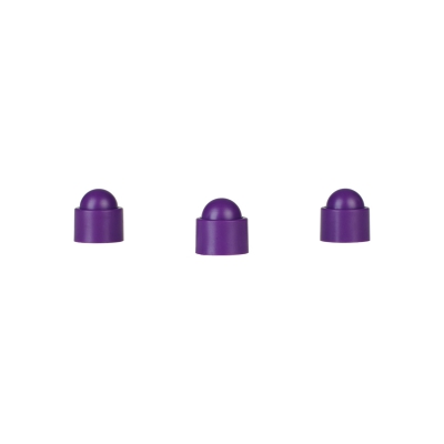 Playing piece Tower - stackable movers - purple - plastic - 12 x 13 mm