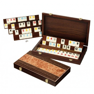 Rummy - Holz Version - Deluxe