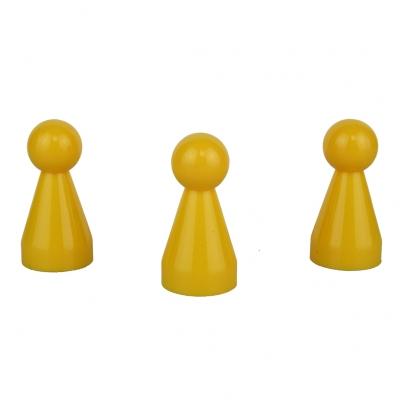 Halmakegel - pöppel - gelb