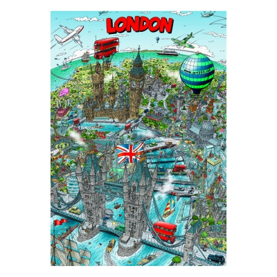London - Poster - DIN A1