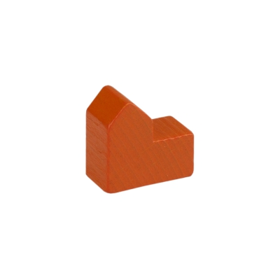 Kirche - 20x19x10mm - orange