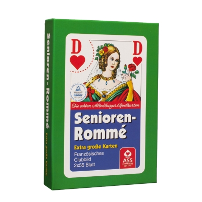Rummy cards - extra large cards