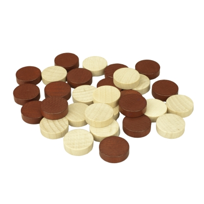 Backgammon stones - substitute or replacement kit - 21 mm