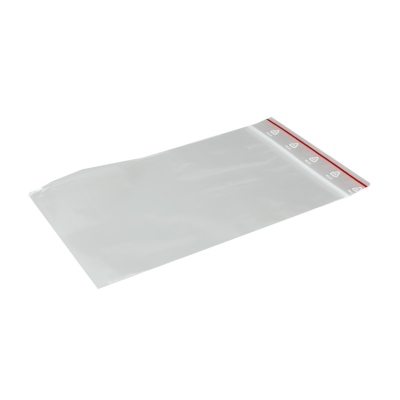 Pressure lock bags - resealable - 100 x 150 mm - 10 pcs