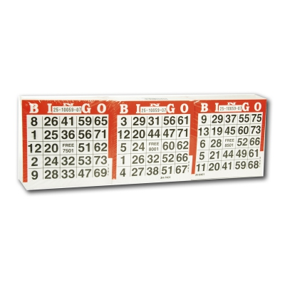Lotto sheets 1-75 - 1500 pieces