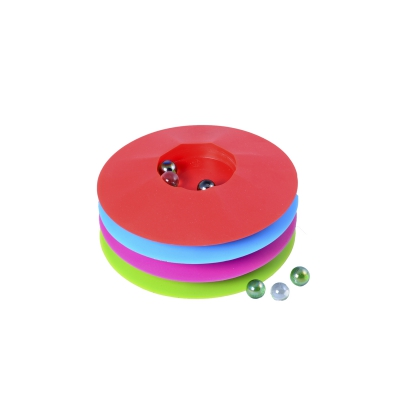 Marble game 17 cm - Round - asorted colors