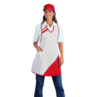 Bib Apron - red