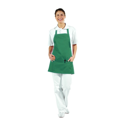Pocket Apron - 3 Pockets - gardener green - 65 cm