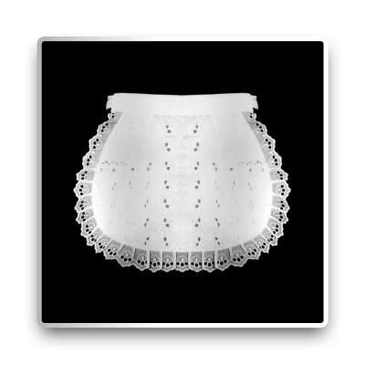 Serving Apron - white - 25 cm
