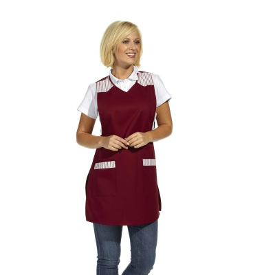 Chasuble - Throw Apron - bordeaux-red