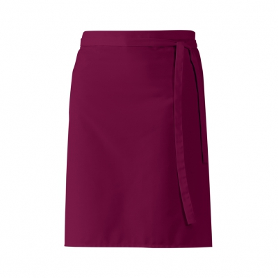 Half Apron - bordeaux-red - 60x80 cm