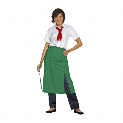 Half Apron Exclusive - gardener green - 145x80 cm