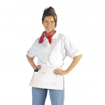 Pocket Apron - white - 50x27 cm
