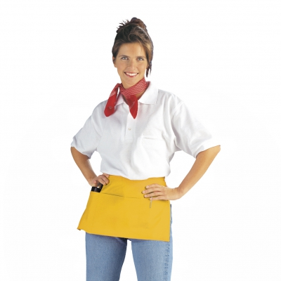 Pocket Apron - yellow - 50x27 cm