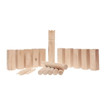 wooden game Kubb small