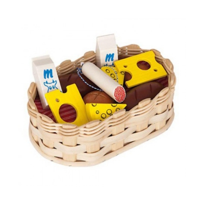 Small shop Accessories - food basket - 22 x 14 x 7 cm