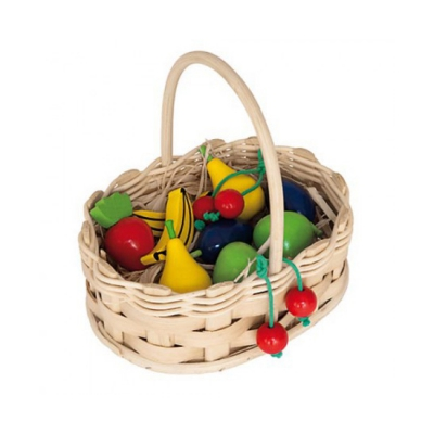 Small shop Accessories - Fruit Basket - 19 x 14 x 15 cm