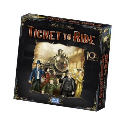 Zug um Zug Jubiläumsausgabe - Ticket to Ride - 10th Anniversary