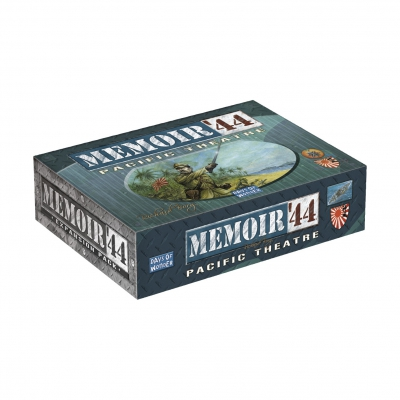 Memoir 44 - Pacific Theater - englisch