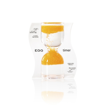 Sanduhr EGG timer - Eieruhr - orange - 10 Minuten