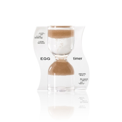 Hourglass - EGG timer - brown - 10 minutes