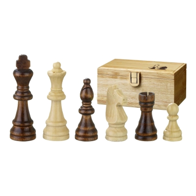 Chess figures - Remus - wooden - Staunton - king size 70mm