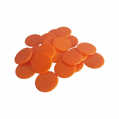 Spielchips - 22 mm - orange