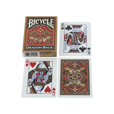 Bicycle cards - poker cards - Dragon Back - paper