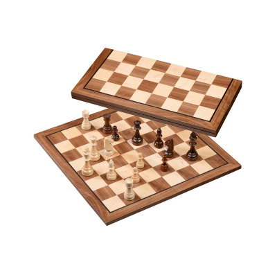 Chess Set - field 50 mm - folding - with cheesmen