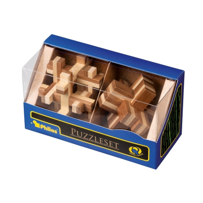 Puzzleset II - bamboo - Level  2 - 2 different puzzle