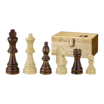 Chess figures - Remus - wooden - Staunton - king size 76 mm