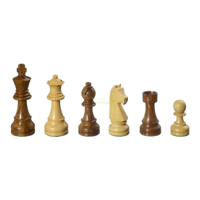 Chess figures - Arcadius - wooden - Staunton - king size 95mm