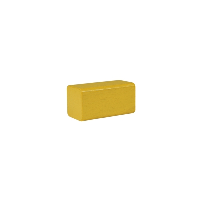building block - rectangle - 50x26x26 mm - yellow