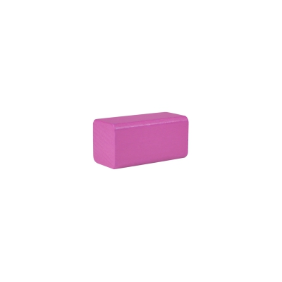 building block - rectangle - 50x26x26 mm - pink