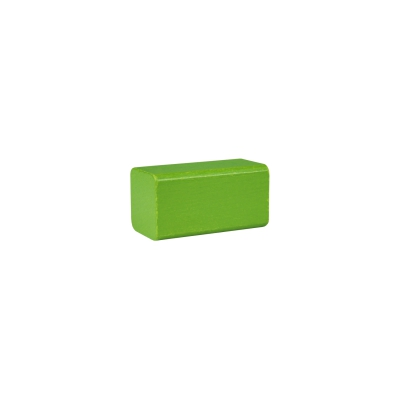 building block - rectangle - 50x26x26 mm - lime