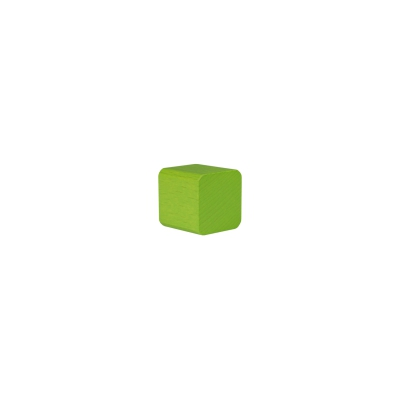 building block - cube - 25x26x26 mm - lime