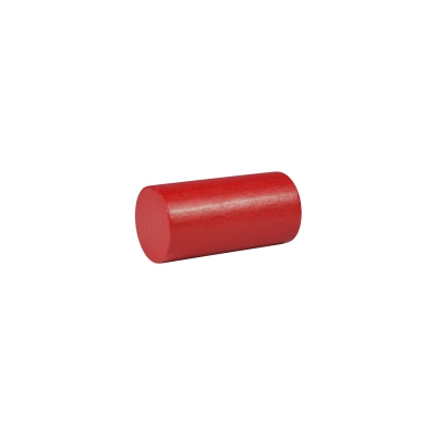 building block - role - pillar - 25x50 mm - red