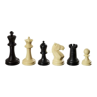 Chess figures - Nerva - plastic - Staunton - king size 83 mm