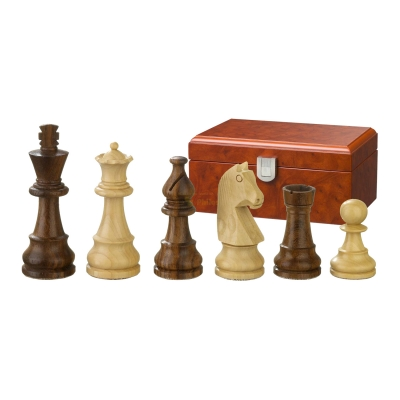 Chess figures - Titus - wooden - Staunton - king size 76 mm