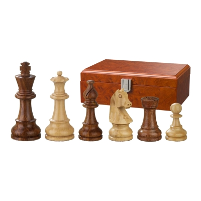 Chess figures - Sigismund - wooden - Staunton - king size 95 mm