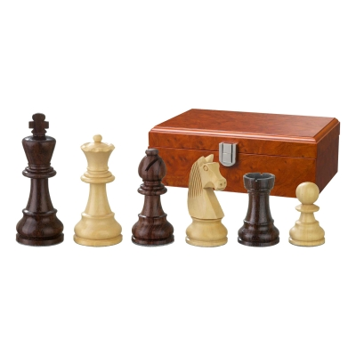 Chess figures - Barbaro�a - wooden - Staunton - king size 90 mm
