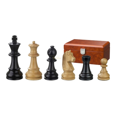 Chess figures - Ludwig XIV - wooden - Staunton - king size 65 mm