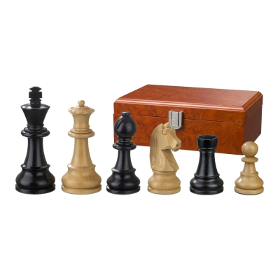 Chess figures - Ludwig XIV - wooden - Staunton - king size 90 mm